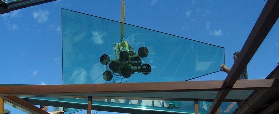 coperture in vetro per strutture esterne