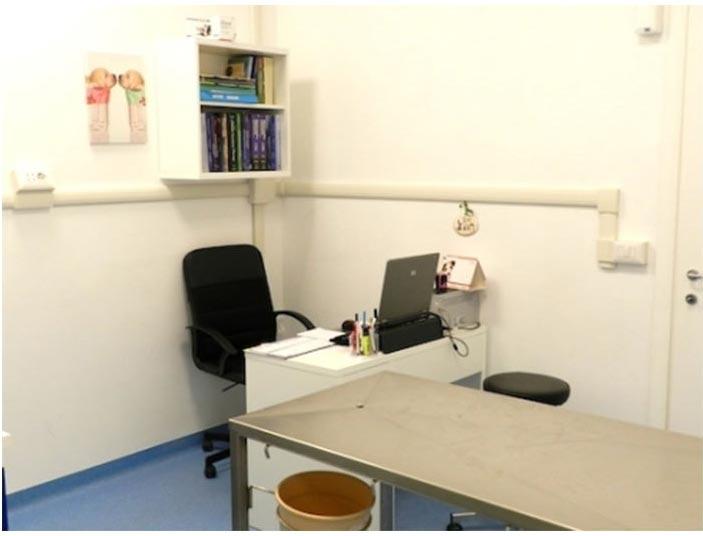 interno ambulatorio veterinario