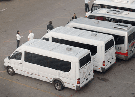 Minibus fleet