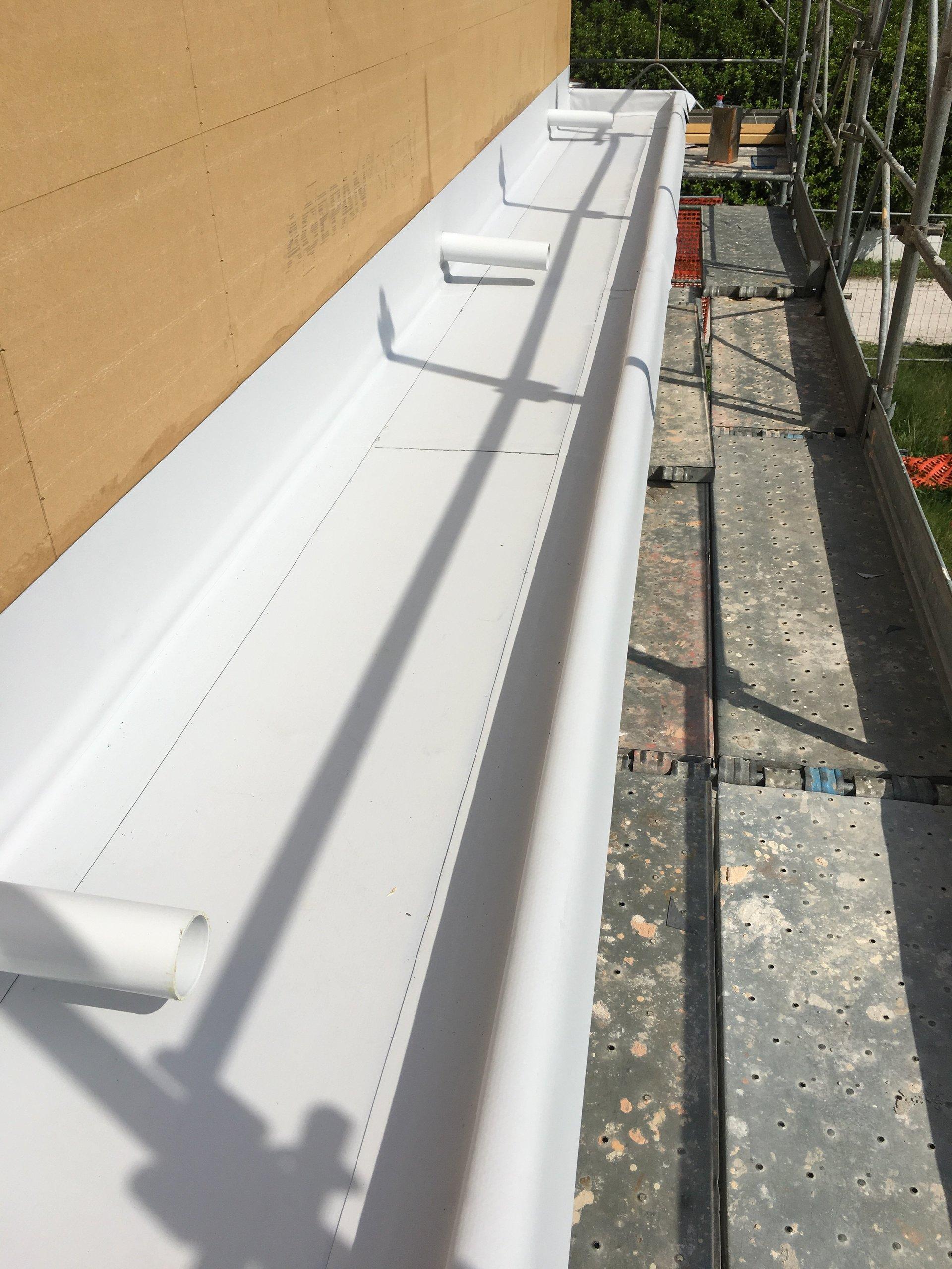 canaletta di un tetto