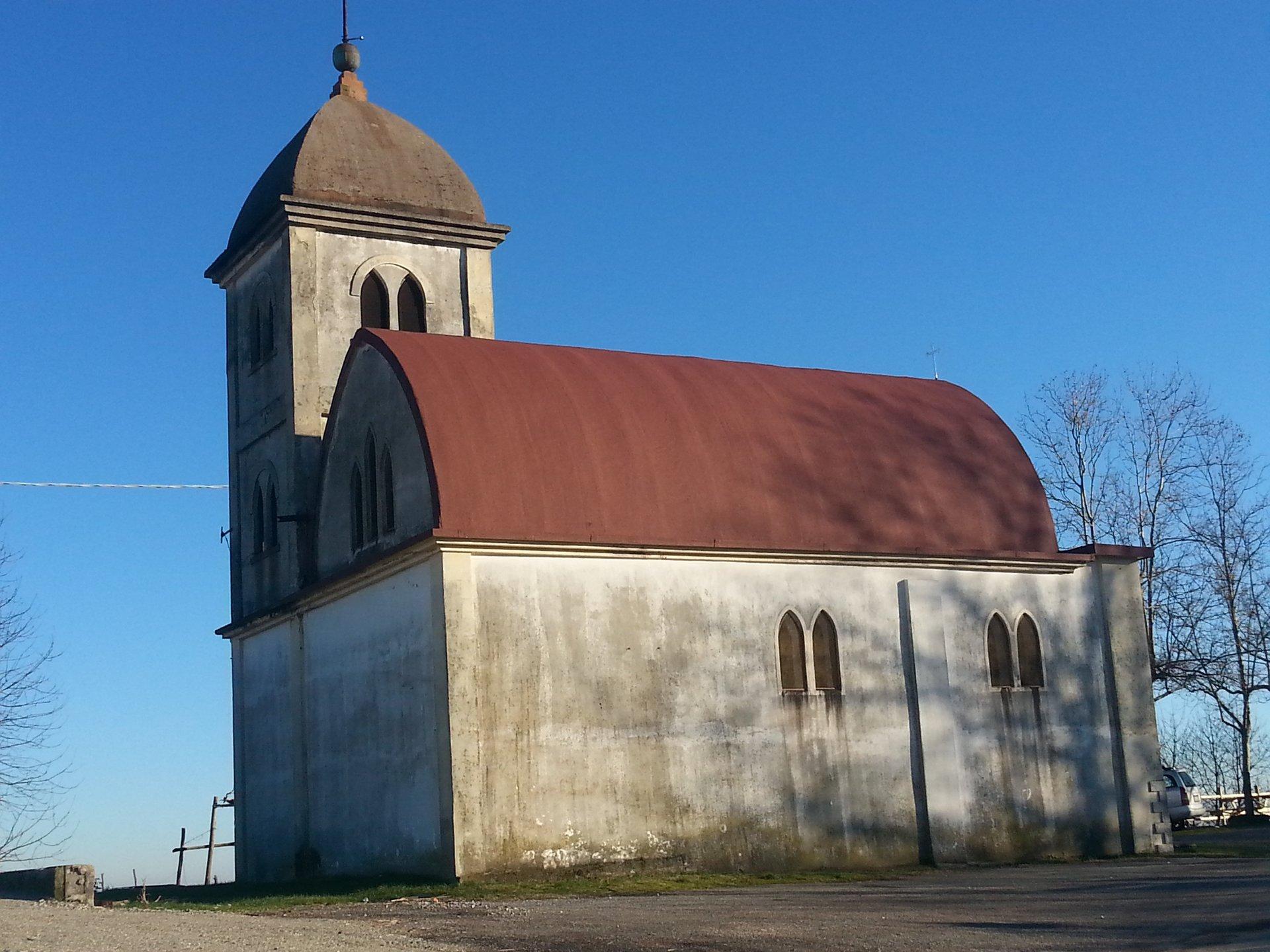 chiesa con tetto impermeabilizzato