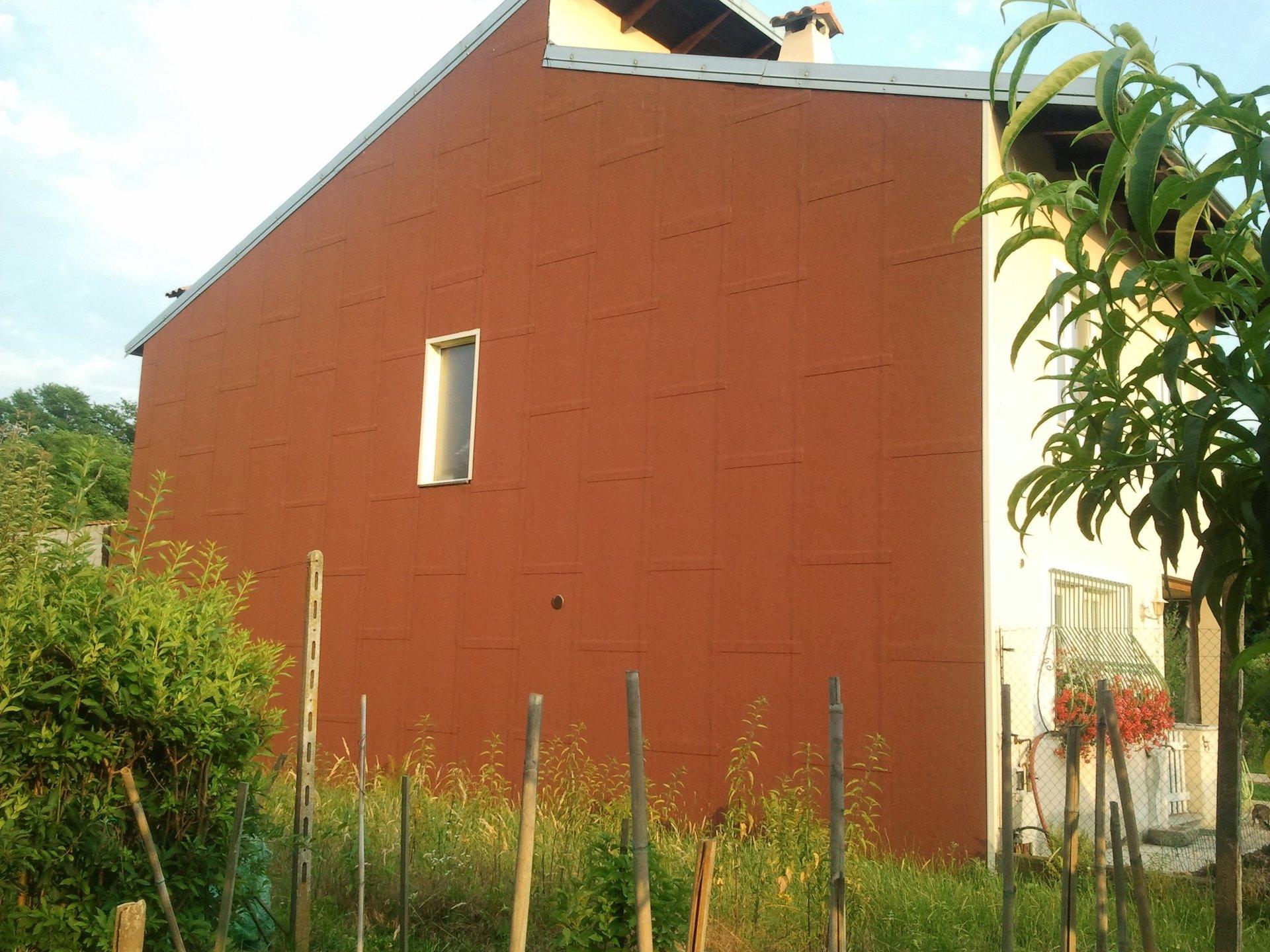 parete di edificio impermeabilizzata