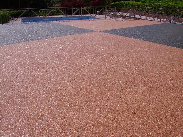 superficie impermeabilizzata con resina