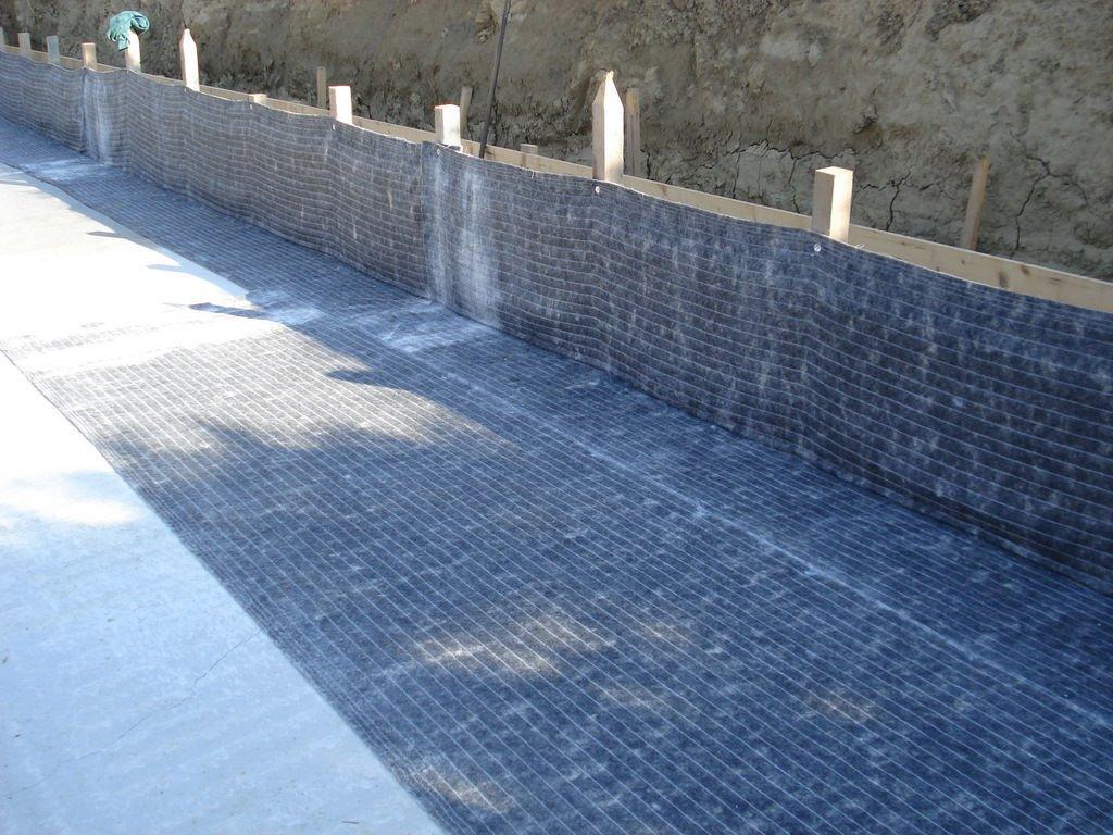 viale impermeabilizzato con betonite
