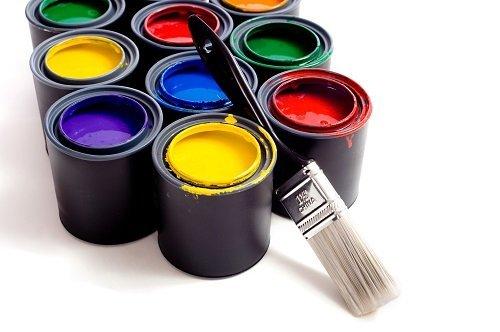 secchi di colori