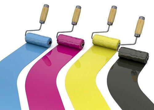 rulli con vernice