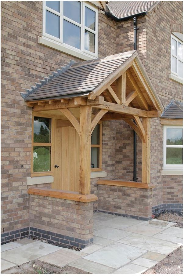 Beautiful oak porch
