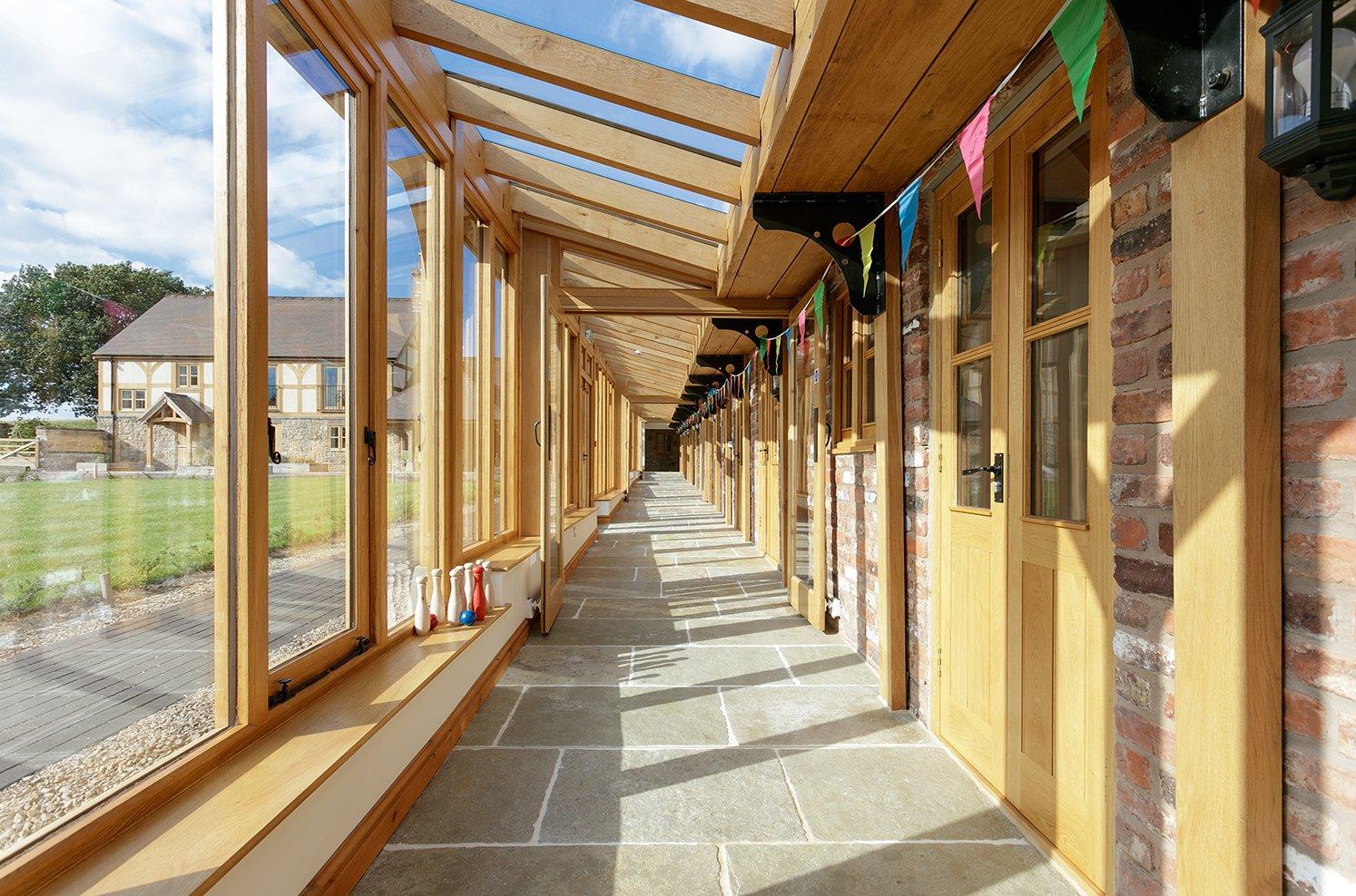 Oak & Home - Oak Framed Conservatory