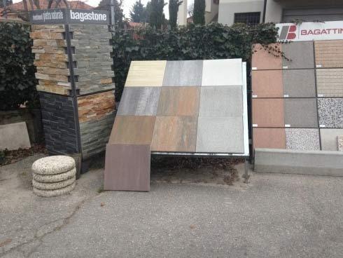 Mattonelle e piastrelle per il pavimento da esterno a Gazzada Schianno