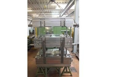 Production of two plate moulds