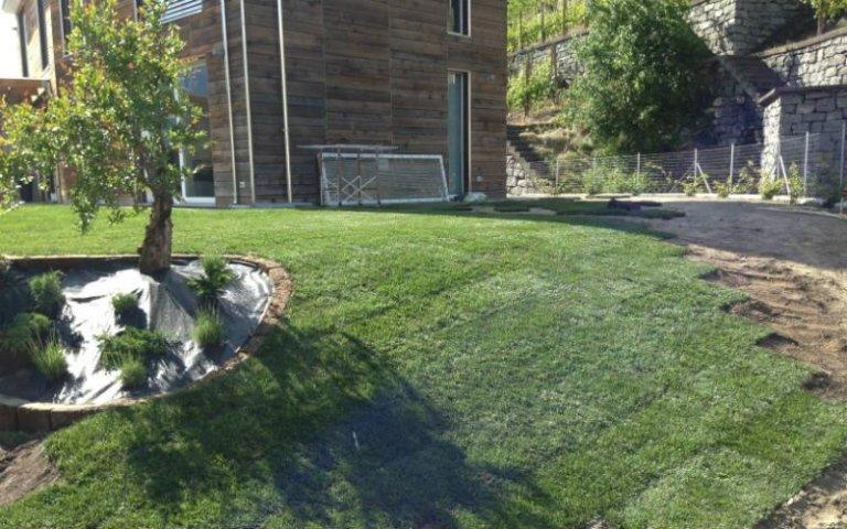Tappeti erbosi per giardini privati