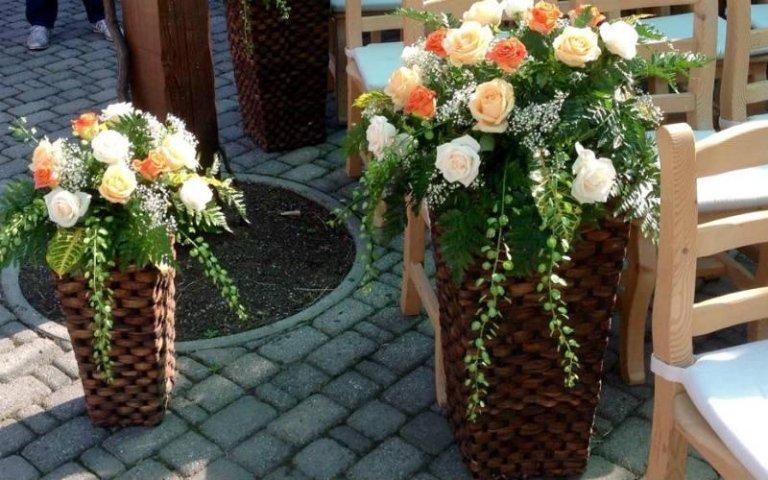 Allestimenti per matrimoni Vivai Giumelli
