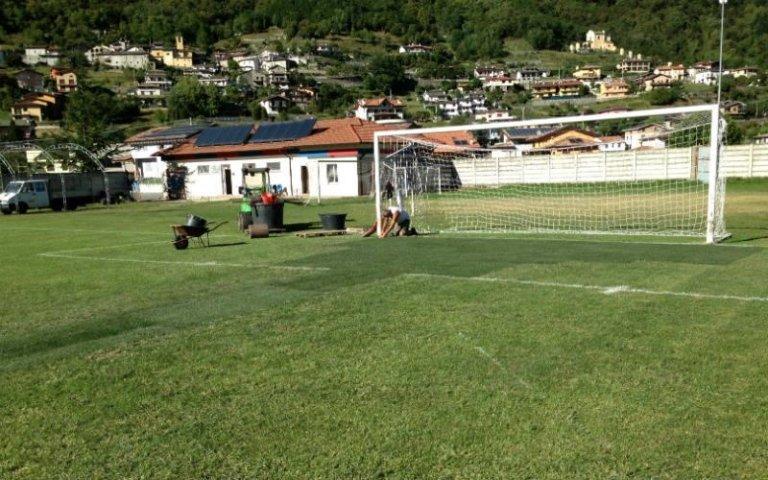 Manutenzione campi da calcio Sondrio