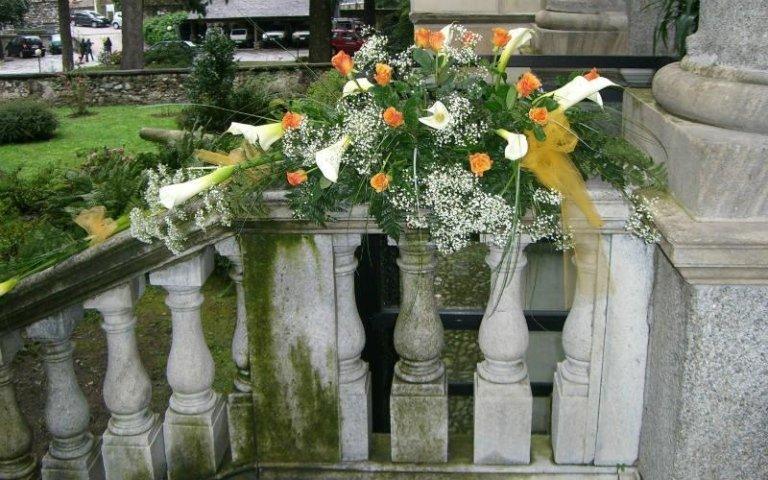 Allestimenti floreali scale