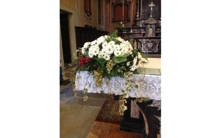 Allestimenti floreali per chiesa