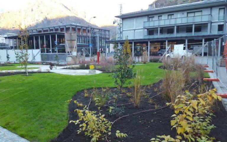 Aiuole per giardini pubblici