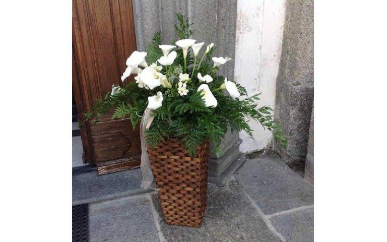 Decorazioni floreali chiesa