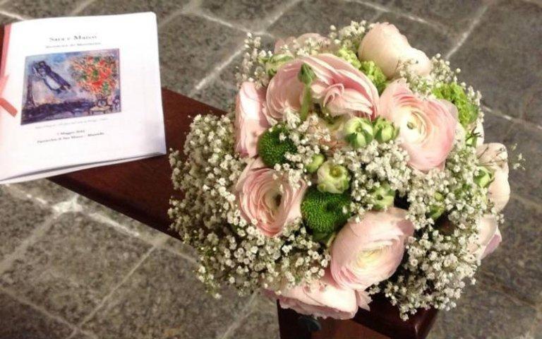 Bouquet floreali per chiesa