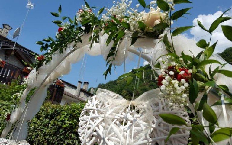 Decorazioni per cerimonie di nozze