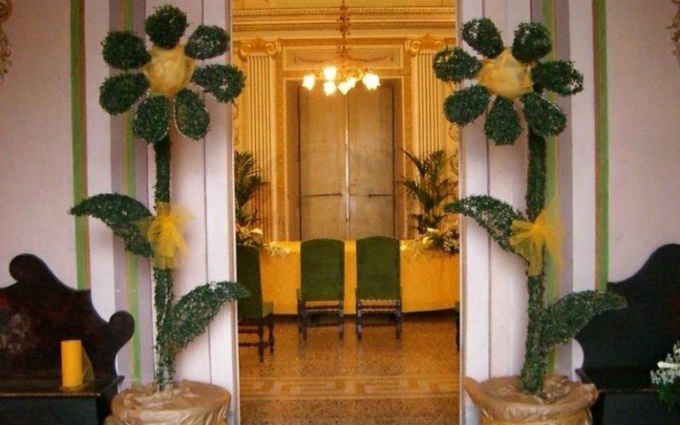 Allestimenti floreali per cerimonie
