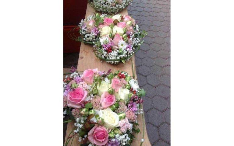 Composizioni floreali da chiesa
