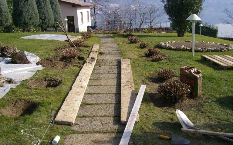 Realizzazione camminamenti in legno