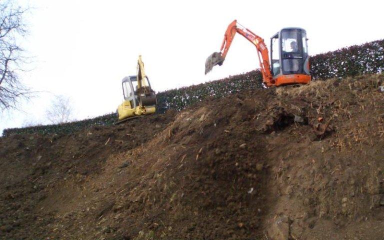 Macchine per scavo terra