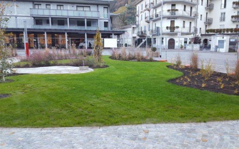Realizzazione aree verdi urbane