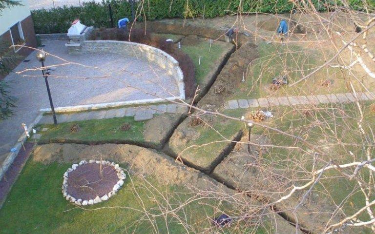 Drenaggio giardini