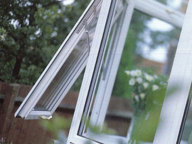 Push-out double glazed window