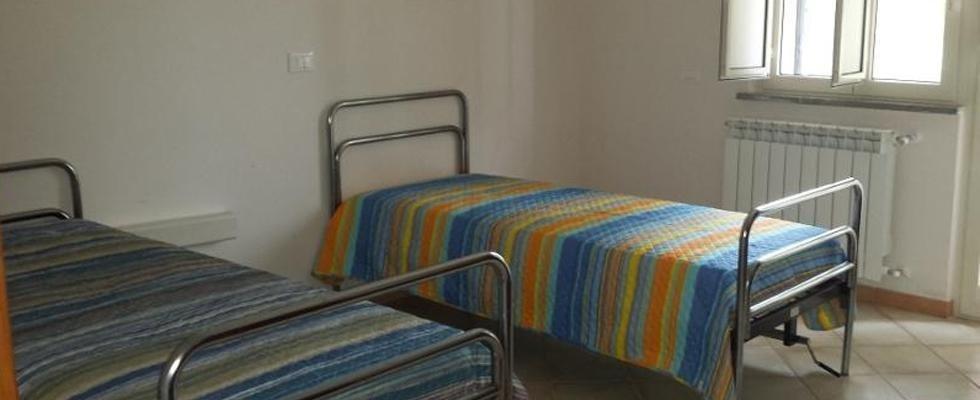 Camere spaziose e luminose per anziani, Fabrica di Roma
