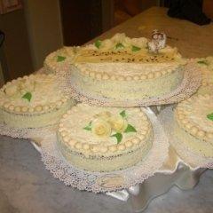 pasticceria secca, torte, torte con panna