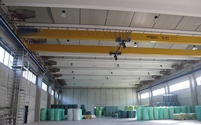 Impianto elettrico capannone