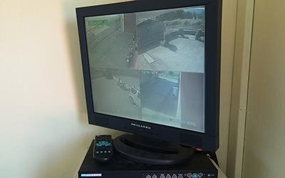 Monitor videosorveglianza
