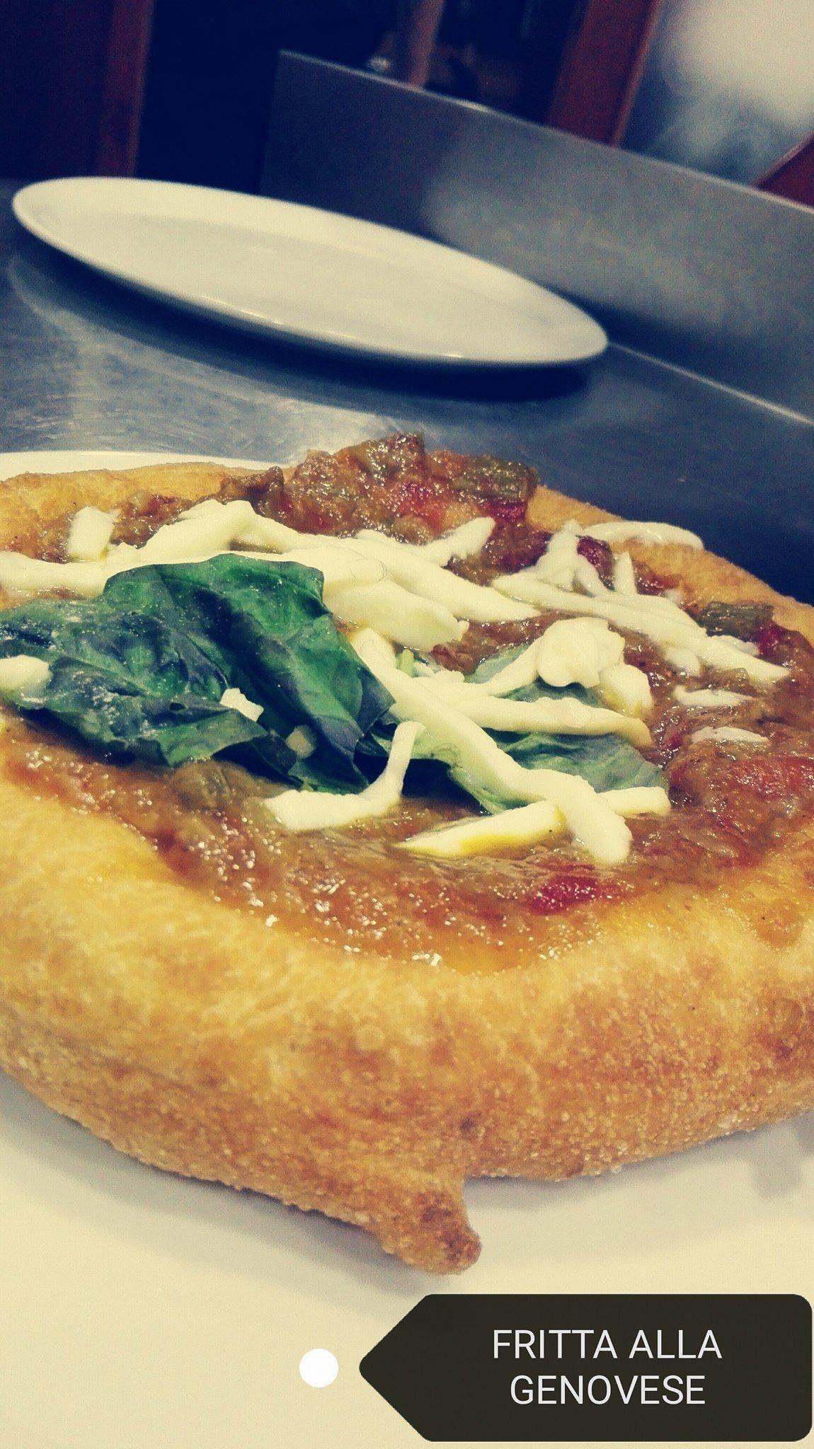 pizza fritta alla genovese