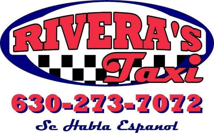 Rivera's Taxi logo