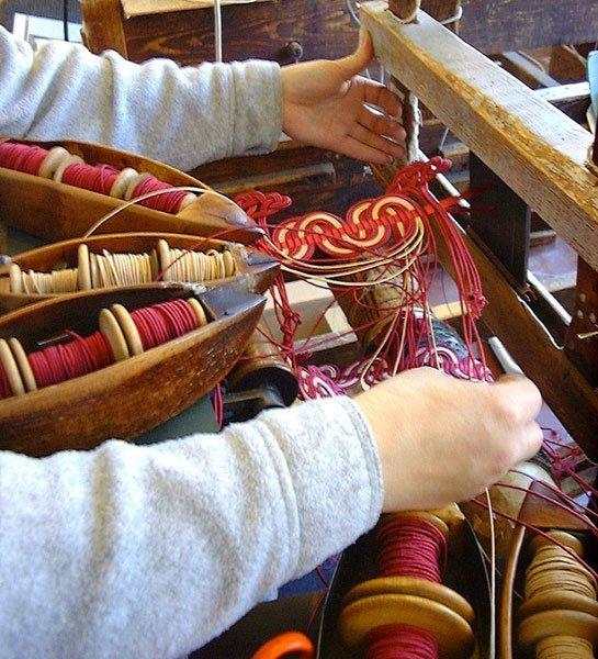 Gimp Weaving