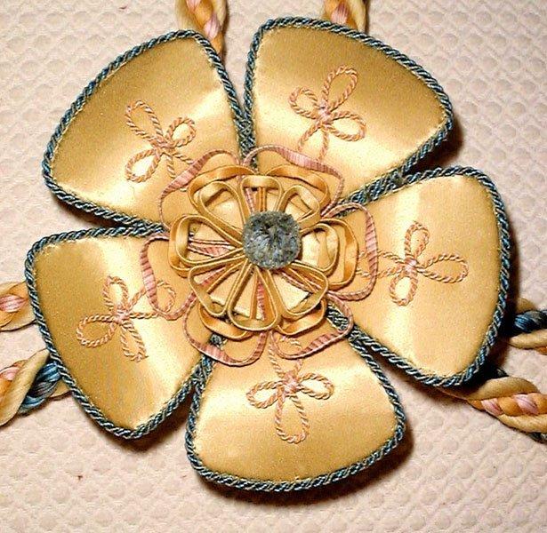 5 Leaf Floral Rosette