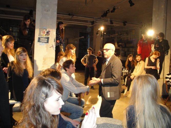 organizzatore di eventi con modelli