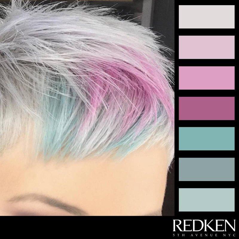 capelli bianchi-REDKEN