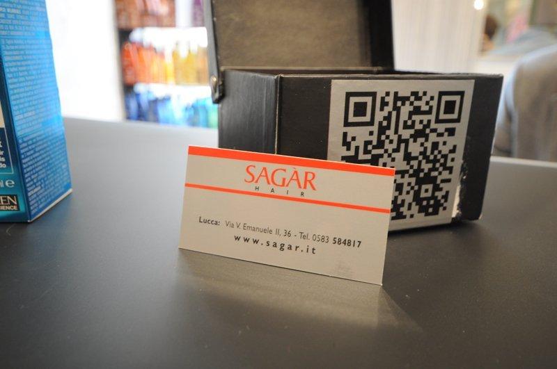 un biglietto di SAGAR