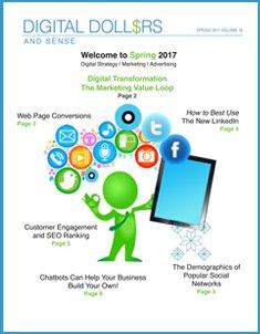Digital Dollars and Sense - Spring 2017 - from Joe Wozny