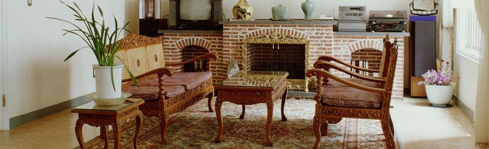 salotto in legno