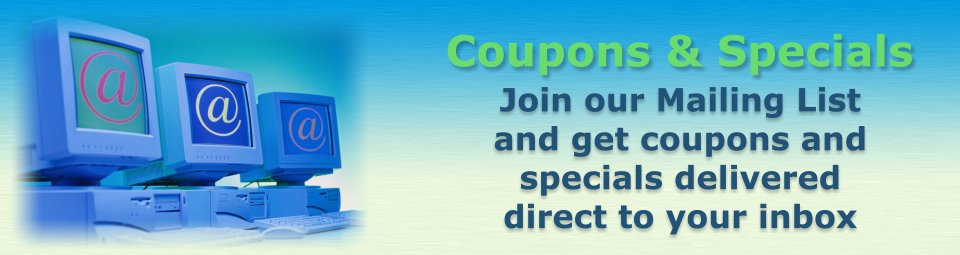 Coupons & Specials