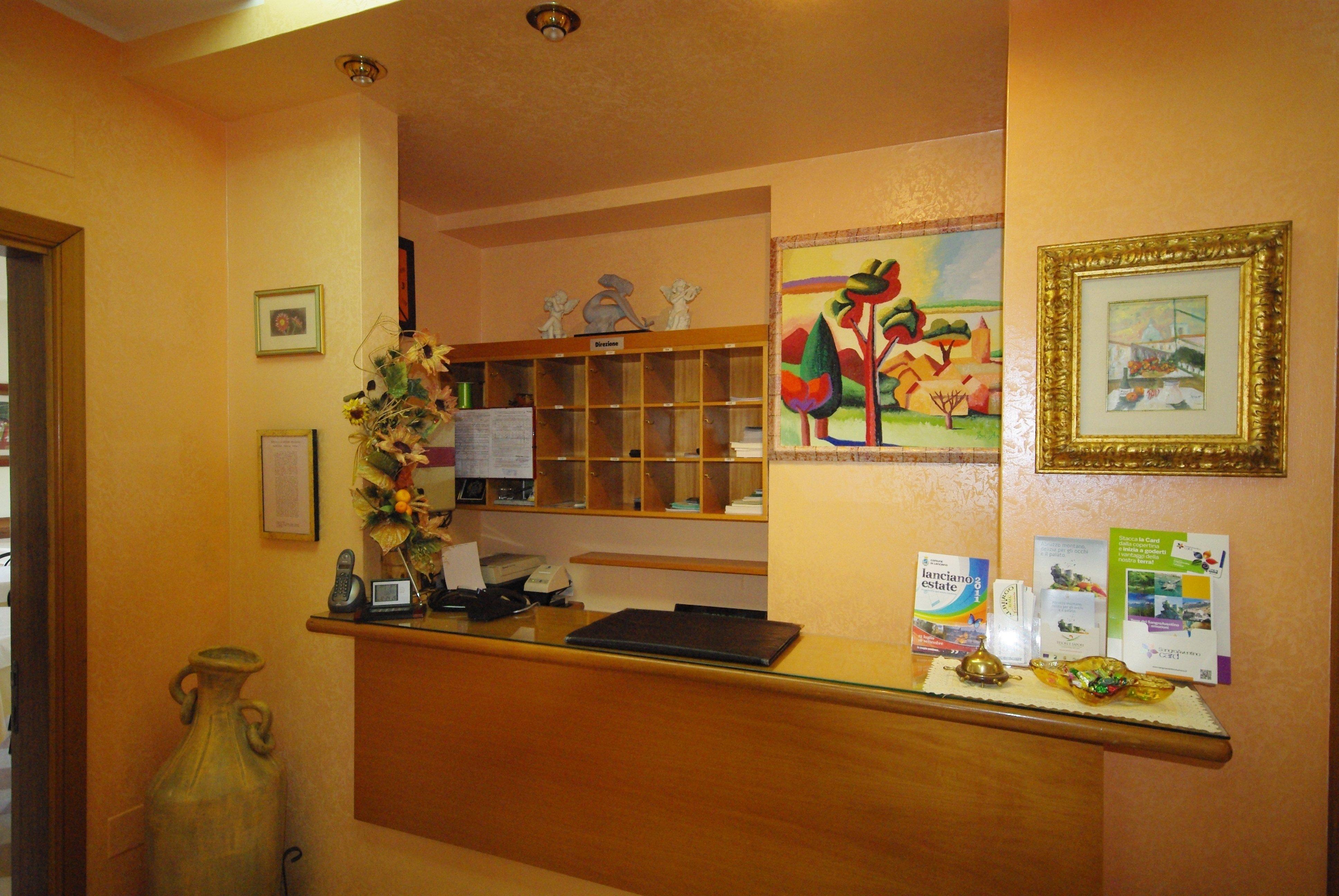 reception di albergo Roma
