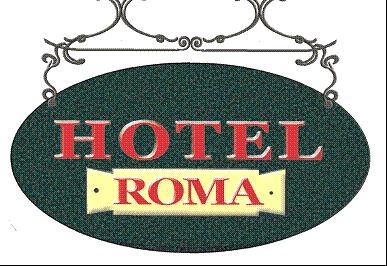 HOTEL ALBERGO ROMA - LOGO