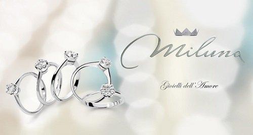 degli anelli della marca Miluna
