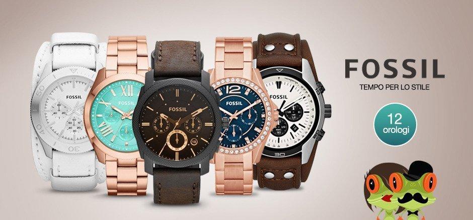 degli orologi della marca Fossil