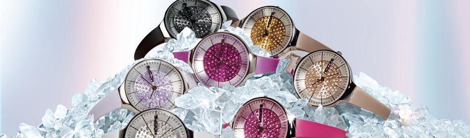 degli orologi colorati