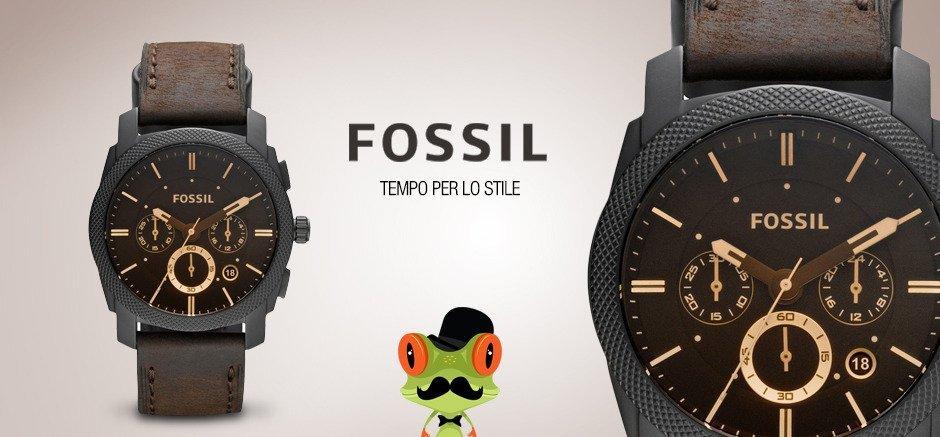 due orologi della marca Fossil